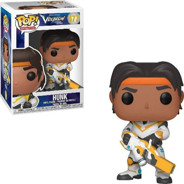 Funko POP! Animation: Voltron Hunk Collectible Figurine