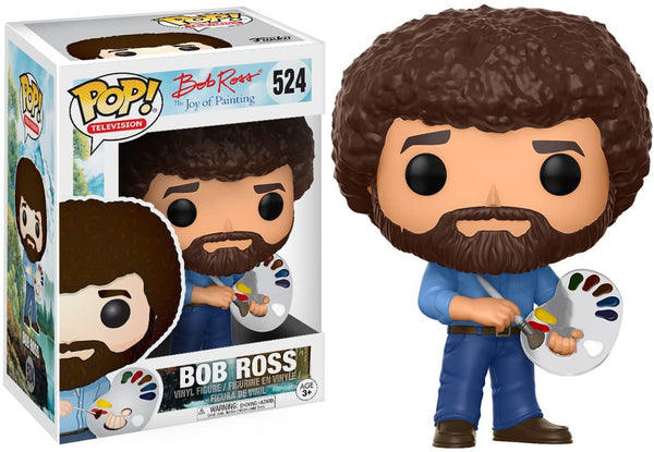 Funko POP! Television Bob Ross Collectible Figurine