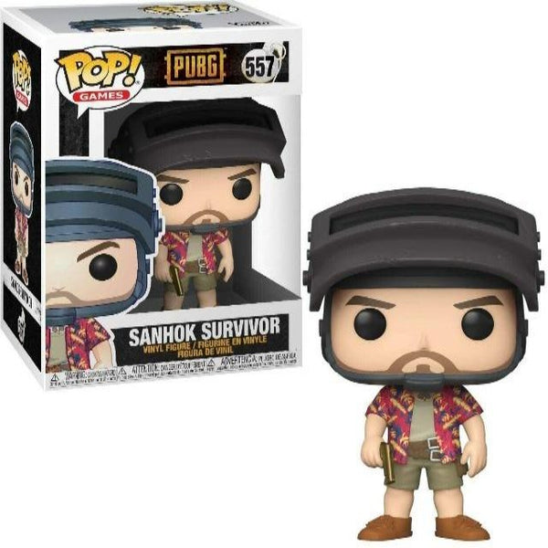 Funko POP! Games: PUBG Sanhok Survivor Collectible Figurine