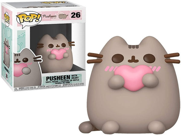 Funko POP! Pusheen with Heart Collectible Figurine
