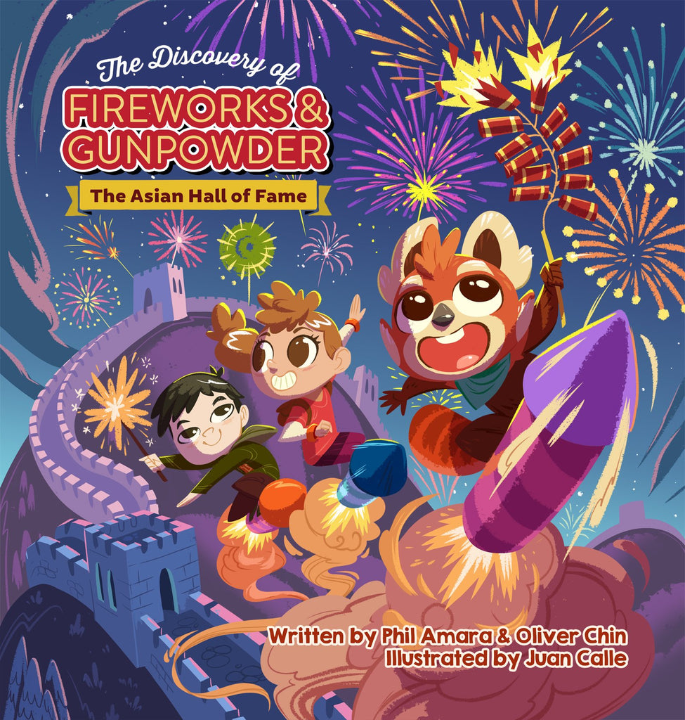 The Discovery of Fireworks and Gunpowder: The Asian Hall of Fame