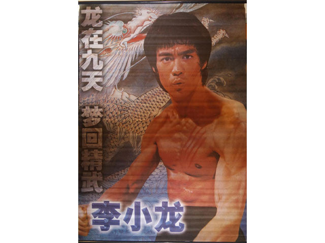 Bruce Lee Fabric Scroll - 24 in. x 36 in.