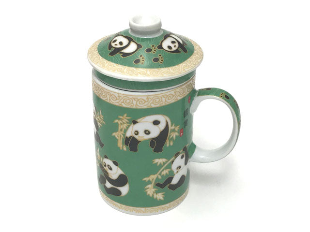 Panda Designs Mug with Infuser