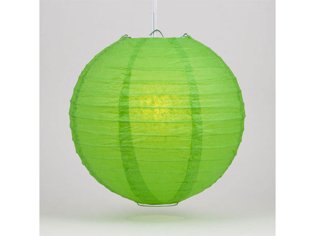 Wire Frame Spherical Paper Lantern (Color Group 3)