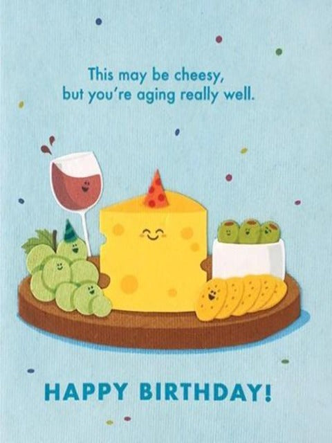 Handcrafted Cards: Aging Well Birthday