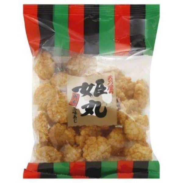 Bag of Japanese rice crackers