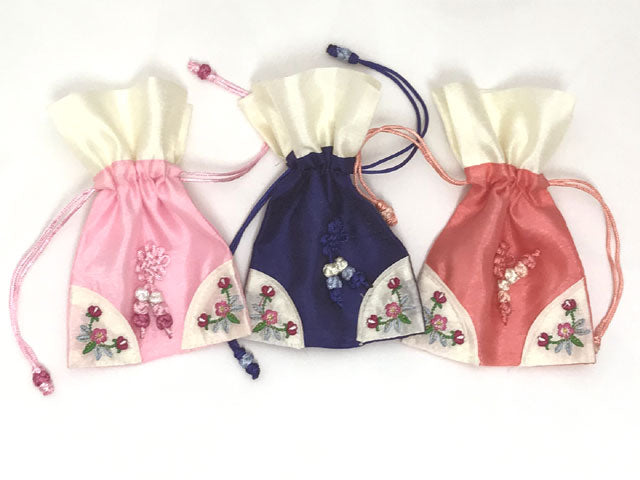 Decorated Drawstring Pouch