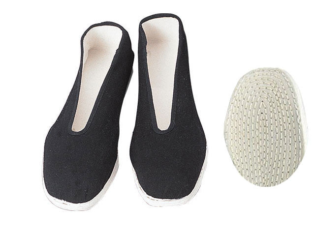 Tai-Chi Shoes - V Opening with Cotton Sole