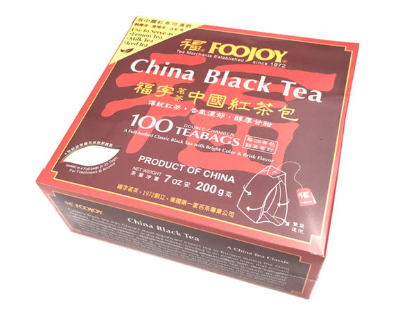Foojoy China Black Tea - Teabag