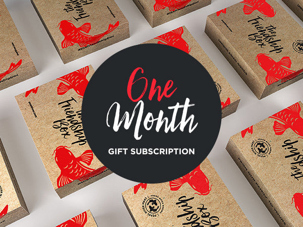 One-Month Friendship Box Gift (One Box)