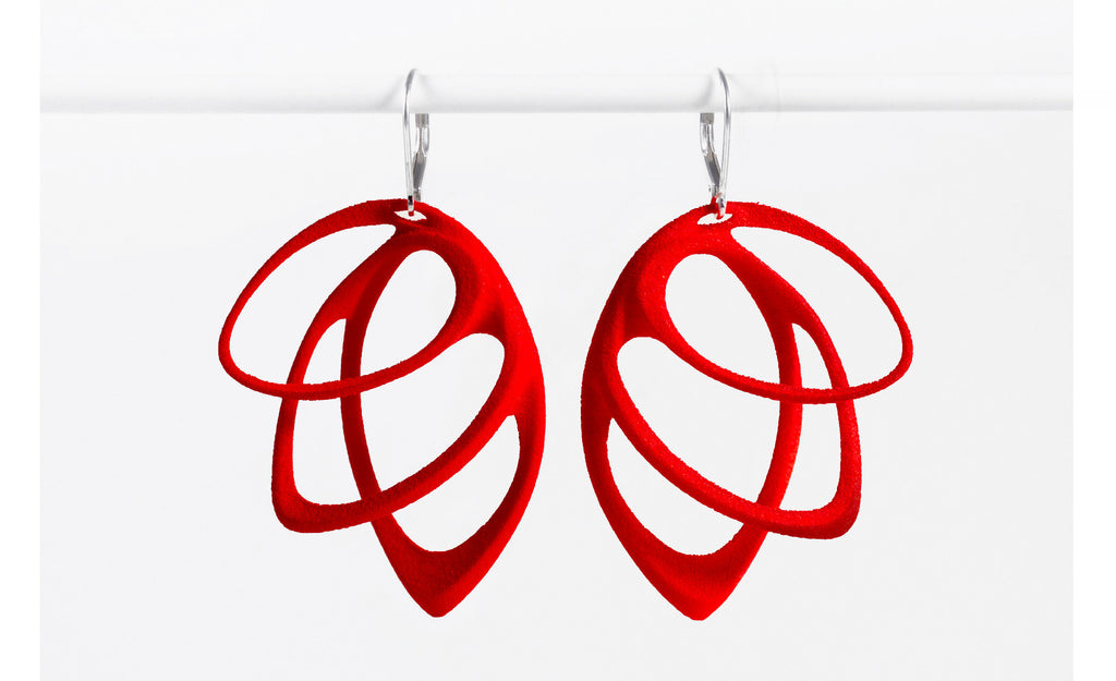 Jenny Wu Lace Orbis Light Earrings