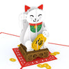 Pop-Up Card: Lucky Cat