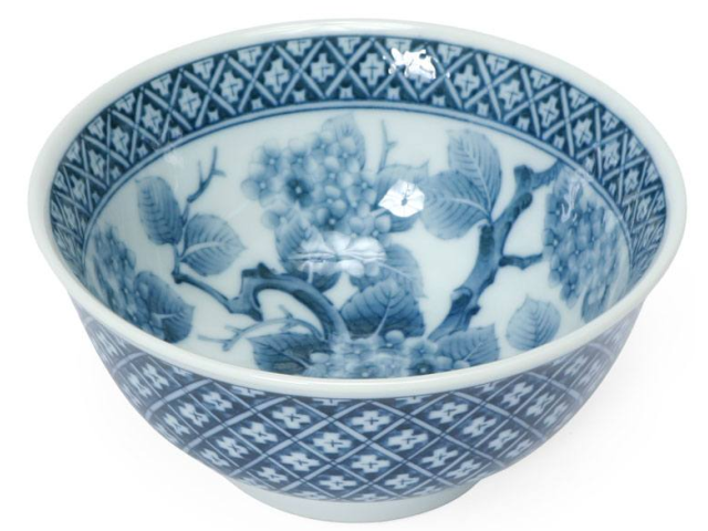 Ajisai Flower/Branch Design Bowl ( Available 5/24/21 )