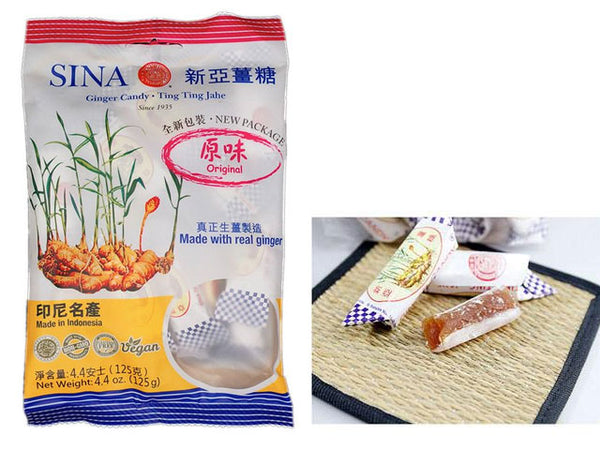 Original Sina Brand Ginger Candy (New Package)