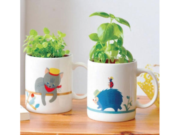 Mug Garden - Charming Mugs with Growing Kit