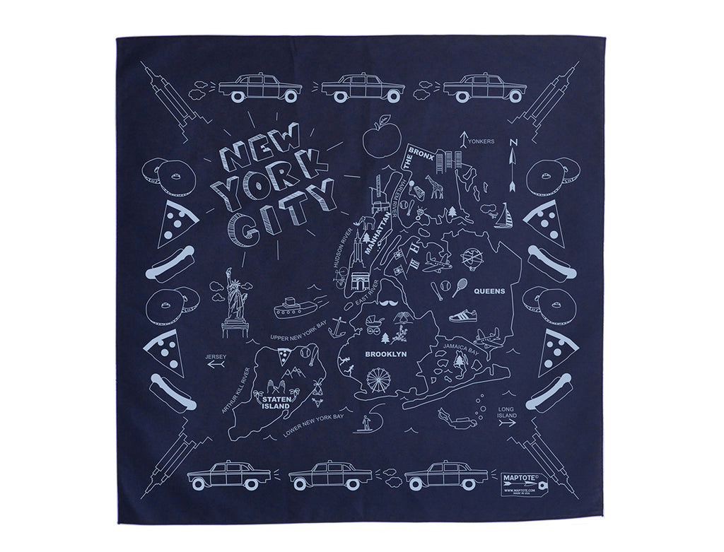 Maptote New York City Bandana