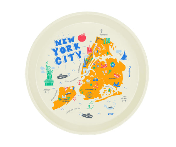 Maptote New York City Round Tray