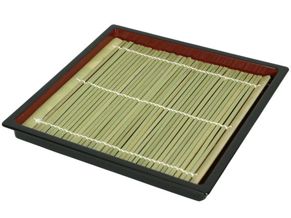 Square Lacquer Sushi Tray  / Soba Tray