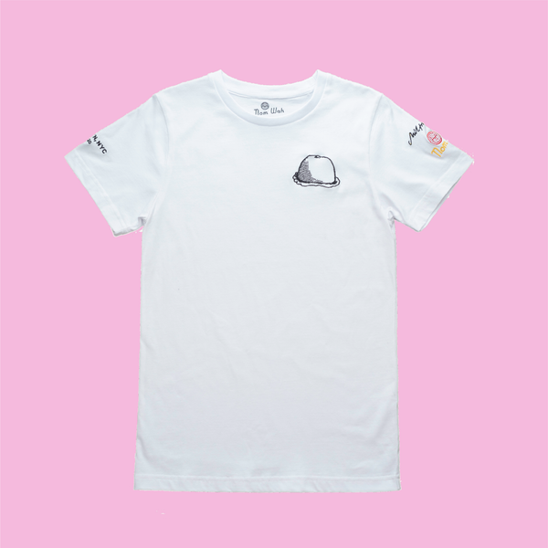 White Nom Wah t-shirt