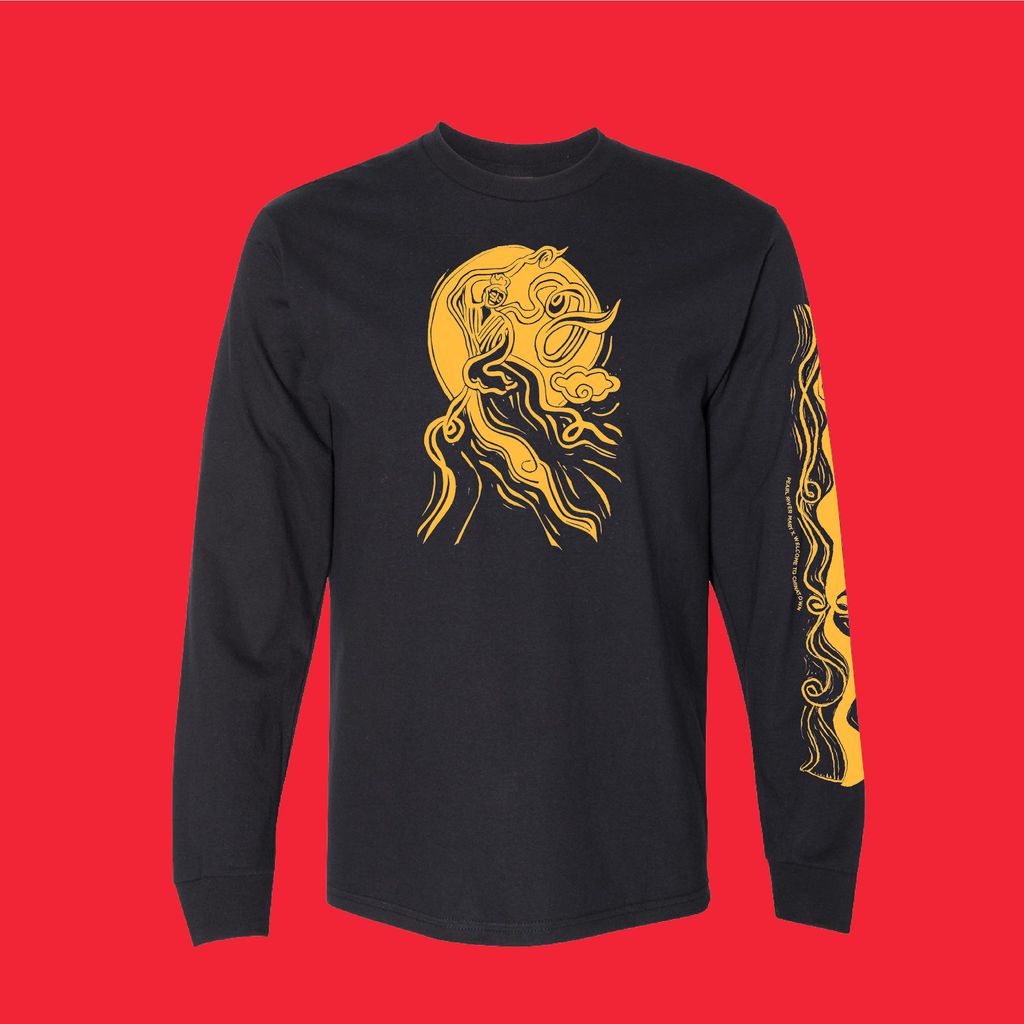 Welcome to Chinatown Moon Goddess Long-Sleeved T-Shirt (Available for Pre-Order)