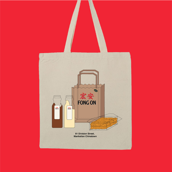 Fong On canvas tote bag