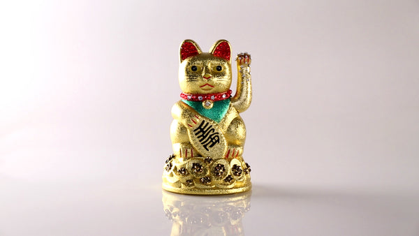 Jimmy Crystal Lucky Cat