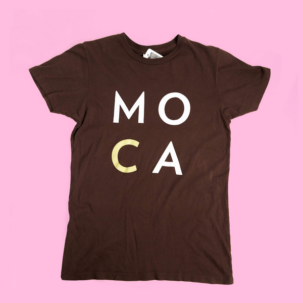 Brown MOCA t-shirt