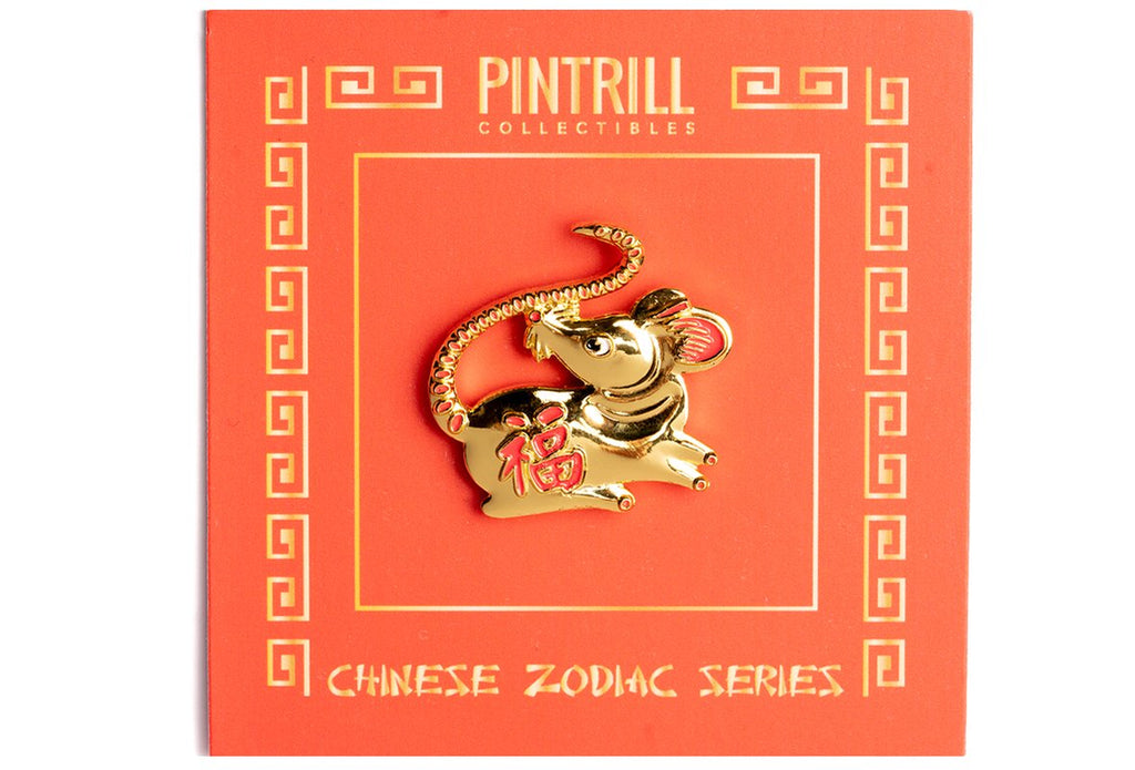 Year of the Rat Pin