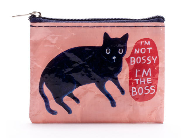 Nylon Coin Purse: I'm Not Bossy