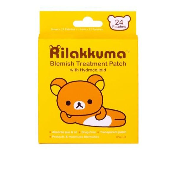 Rilakkuma Blemish Protection Patch with Hydrocolloid Spot Treatment