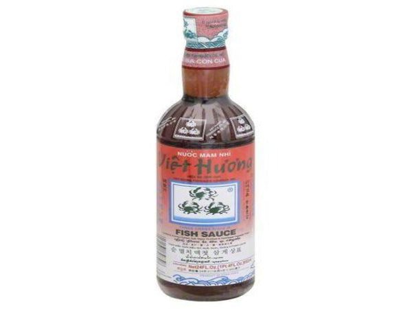 Bottle of Vietnamese style fish sauce