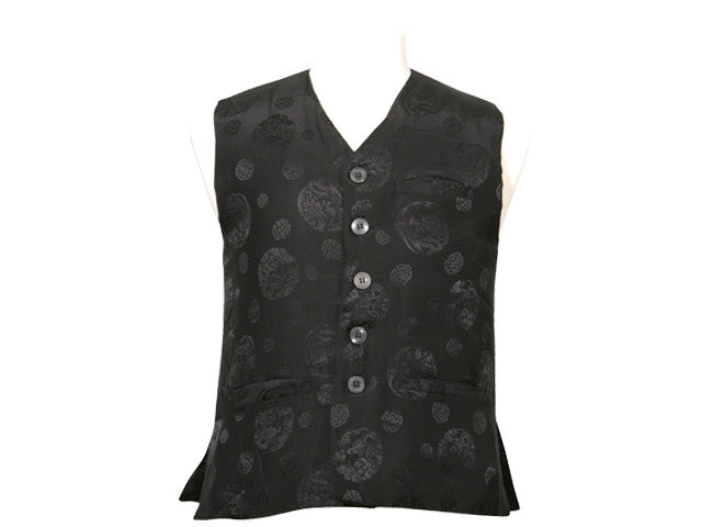 Men 100% Silk Quilted Vest