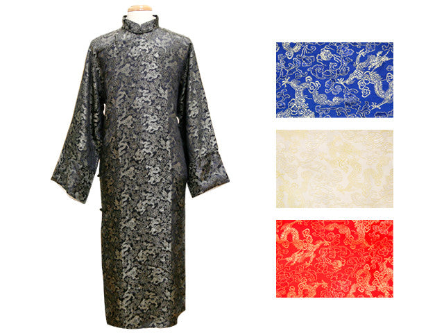 Men Dragon Brocade Long Outerwear (Chong-Shan)