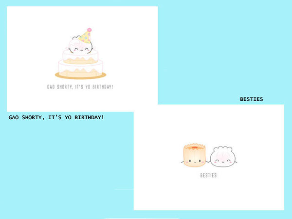 Dumpling Series - Greeting Cards