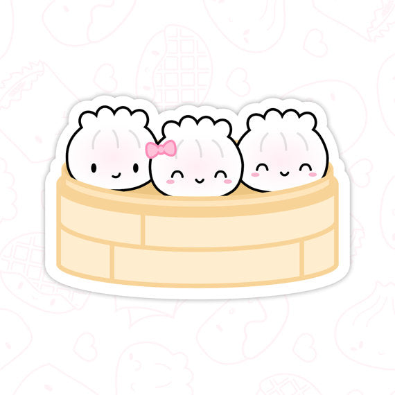 Dim Sum Laptop Stickers