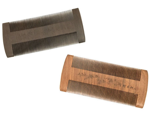 Double Sided Wooden Comb