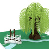 Pop-Up Card: Willow Tree