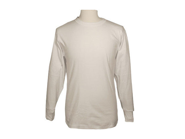 Men Cotton Interlock Undershirt - Long Sleeves