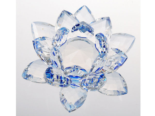Colored Crystal Lotus Blossom
