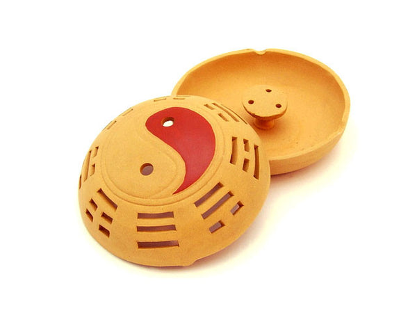 Clay Sand Zisha Yin Yang Incense Burner