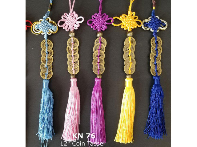 Coins Ornament with Tassel (5 Coins)