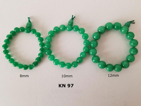 Jade Green Color Beaded Bracelet
