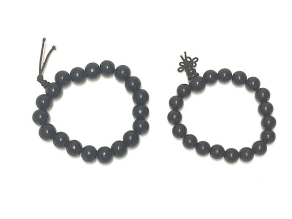 Wooden Beaded Bracelet - Dk.Brown(Black)