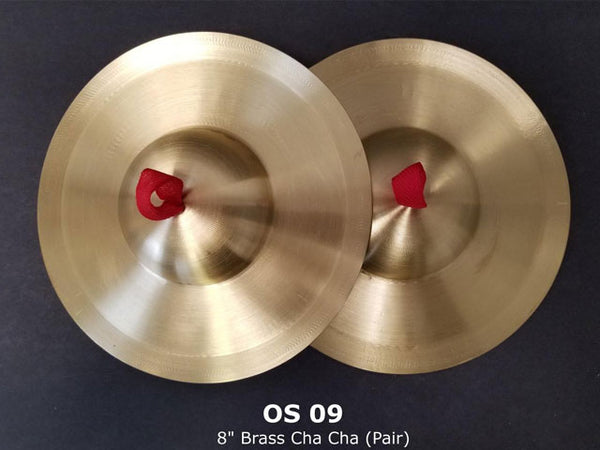 Dome Shape Brass Cymbals (Pair)