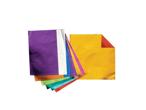Double Sided Assorted Colors Origami Foil - 6 in.