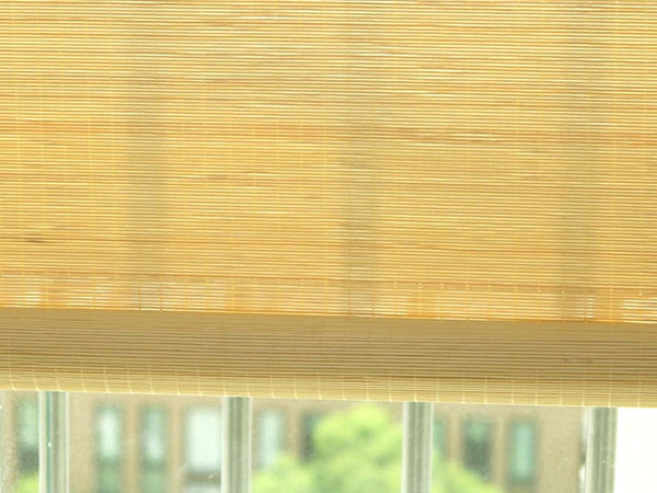 Chain Pulling Fine Matchstick Bamboo Blinds