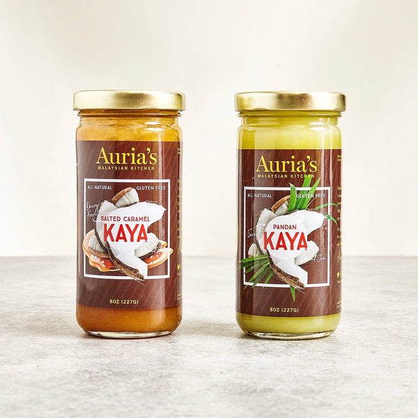 Jars of Auria's Kitchen kayas