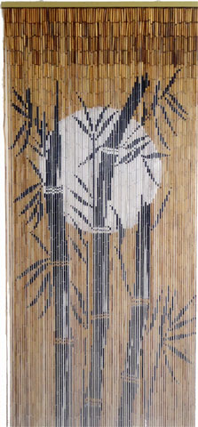 Fine Bamboo Curtain - Moon in Bamboo Forest ( Out of Stock )
