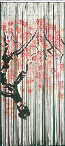 Copy of Fine Bamboo Curtain - Cherry Blossom