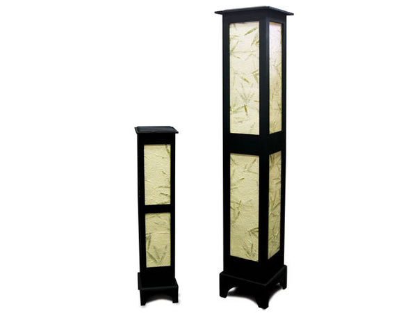 Bamboo Leaves Design Floor Lamp